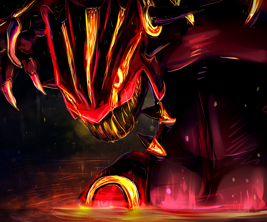 Free Download Primal Groudon By 9tailsfoxyfoxy 1024x853