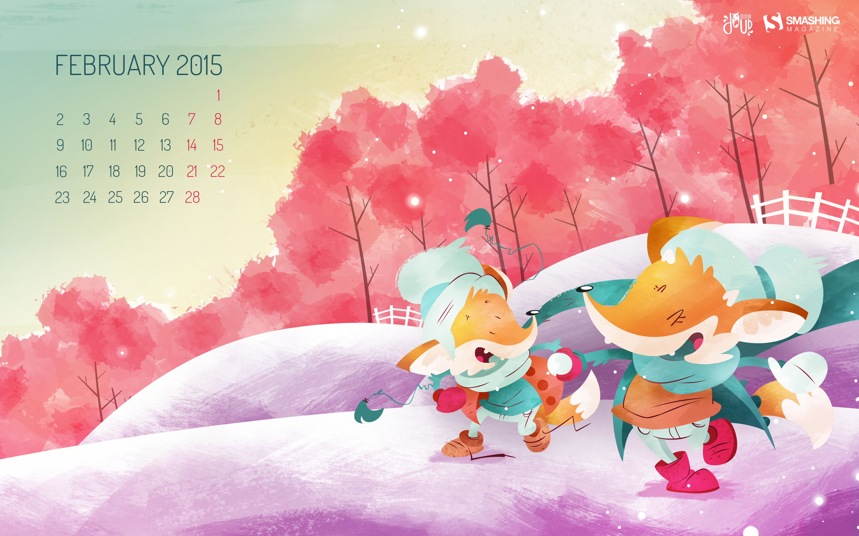 Desktop Wallpaper Calendars February 2015 Smashing Magazine 2880x1800