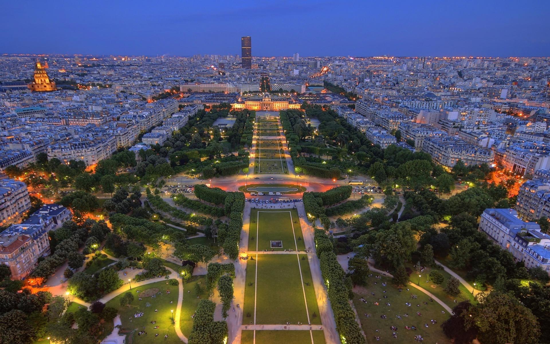 Beautiful Panorama Of Paris wallpapers Beautiful Panorama Of Paris 1920x1200
