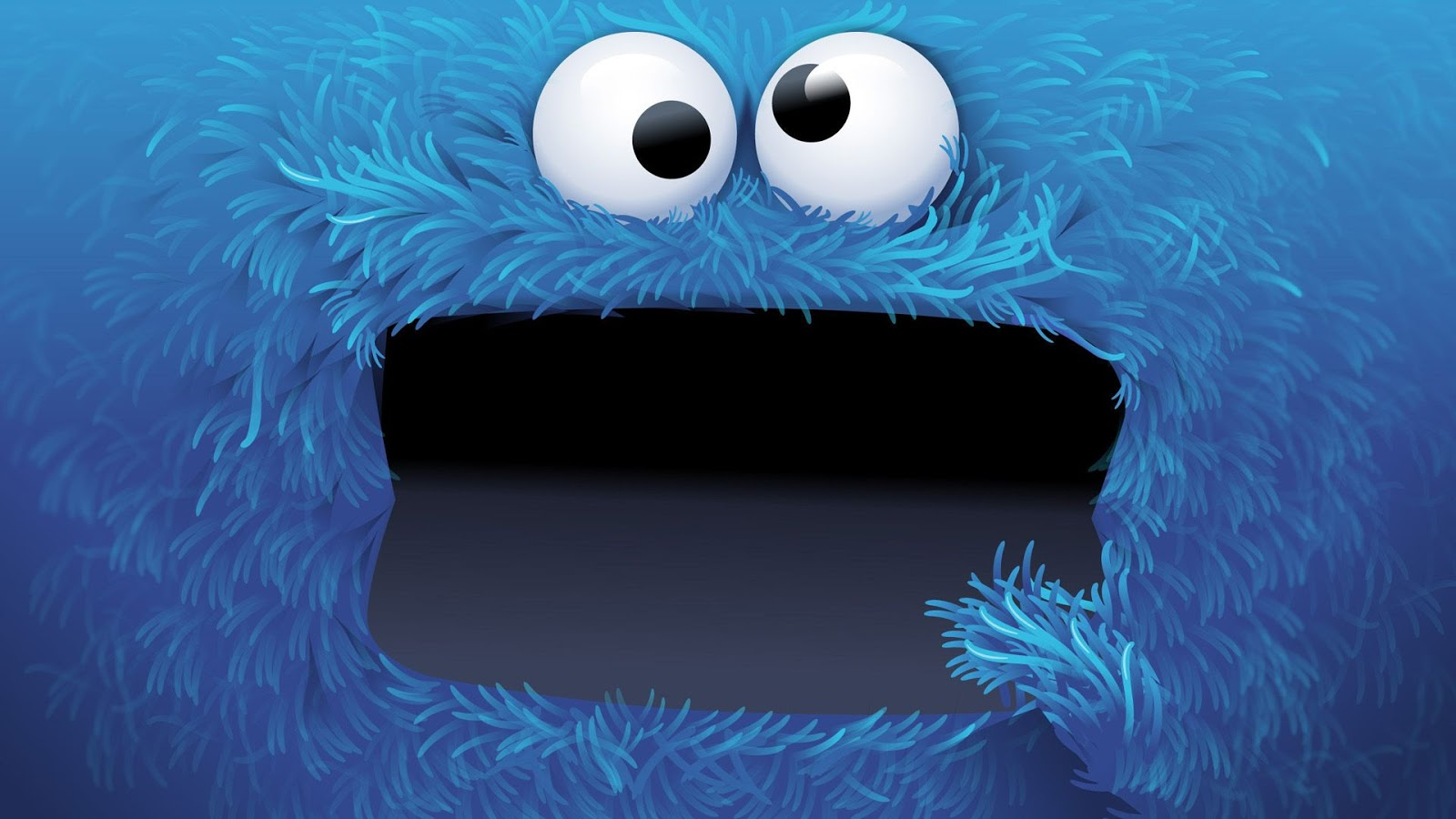 Mystery Wallpaper Cookie Monster 1600x900