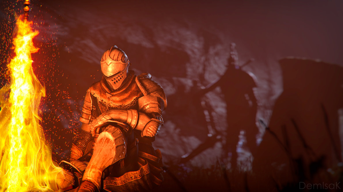 Free Download Dark Souls Bonfire Of Life By Demiisak 1191x670