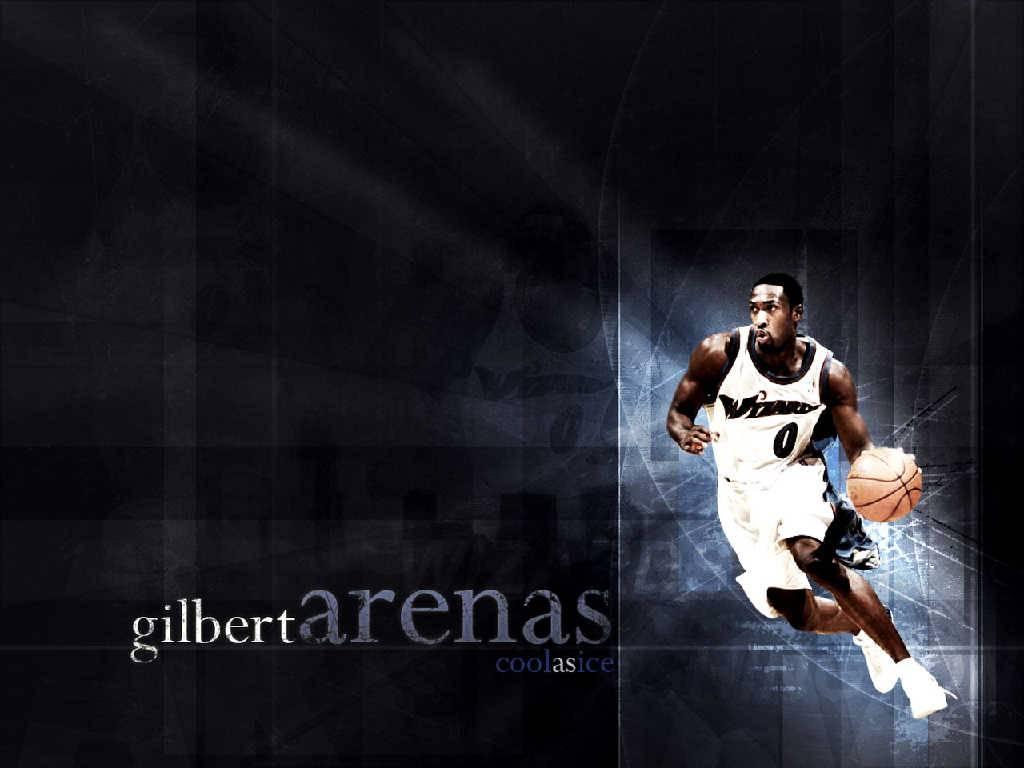 Gilbert Arenas drive Wallpaper   Washington Wizards Wallpaper 1024x768