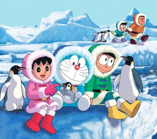 Contoh Wallpaper Doraemon Untuk Rumah Minimalis 500x442
