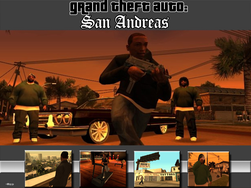 All The Best Game Picture GTA San Andreas Wallpaper 1024x768