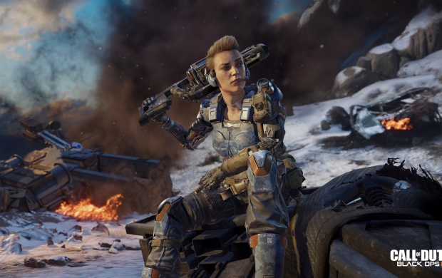 Battery Call Of Duty Black Ops 3 Specialist 4k Girl Soldier wallpapers 620x390