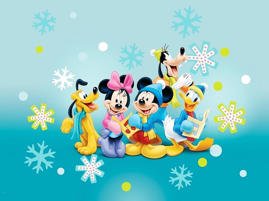 mickey mouse christmas wallpaper wallpapersafari - Mickey Mouse Clubhouse Christmas