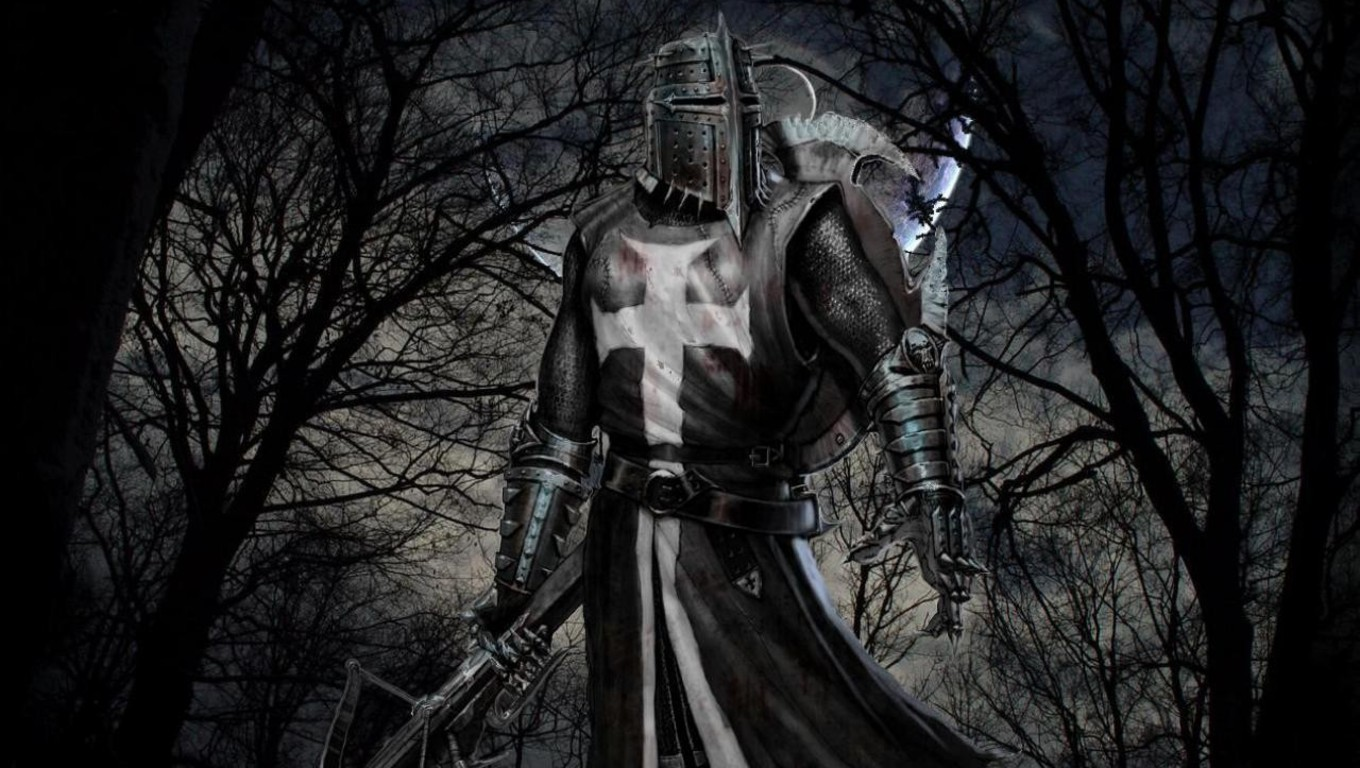 medieval knights hospitaller HD Wallpaper   General 1130844 1360x768