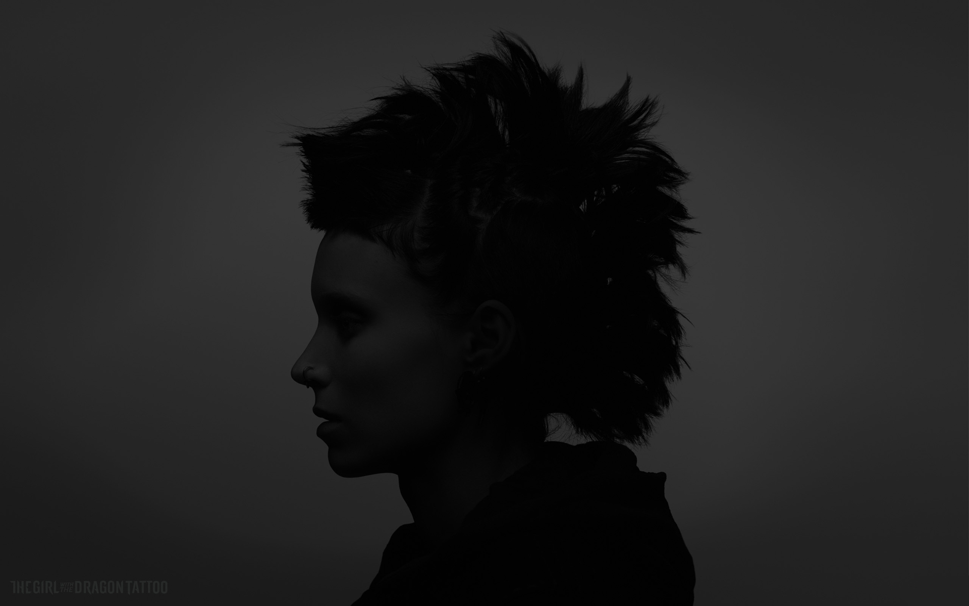 the dragon tattoo bw wallpaper Black and white desktop wallpapers 1920x1200