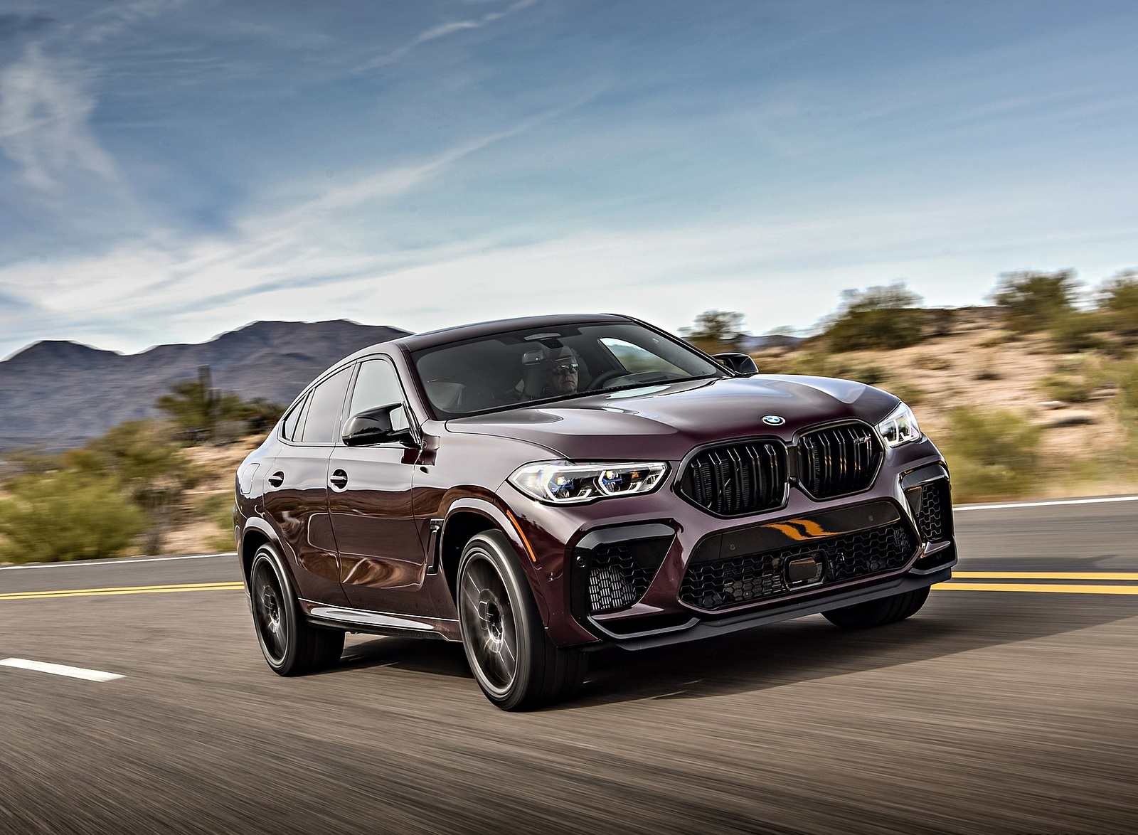 2020 BMW X6 M Competition US Spec Wallpapers 206 HD Images 1600x1174