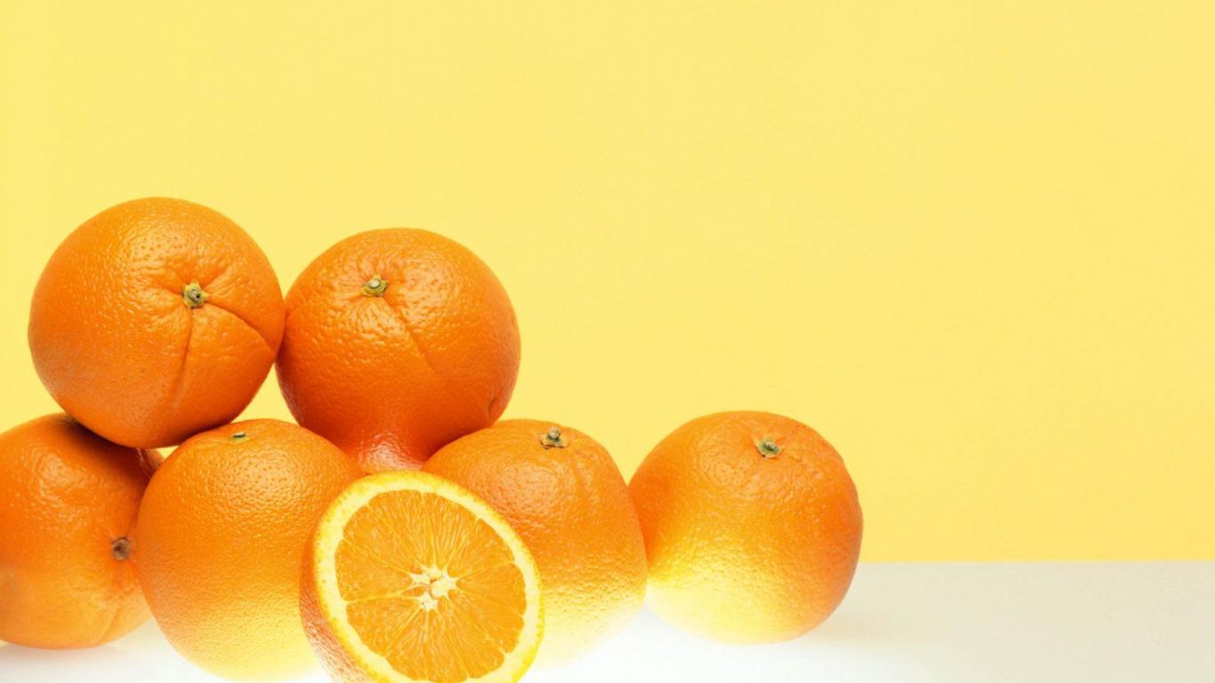 Orange HD 1366x768 1366x768