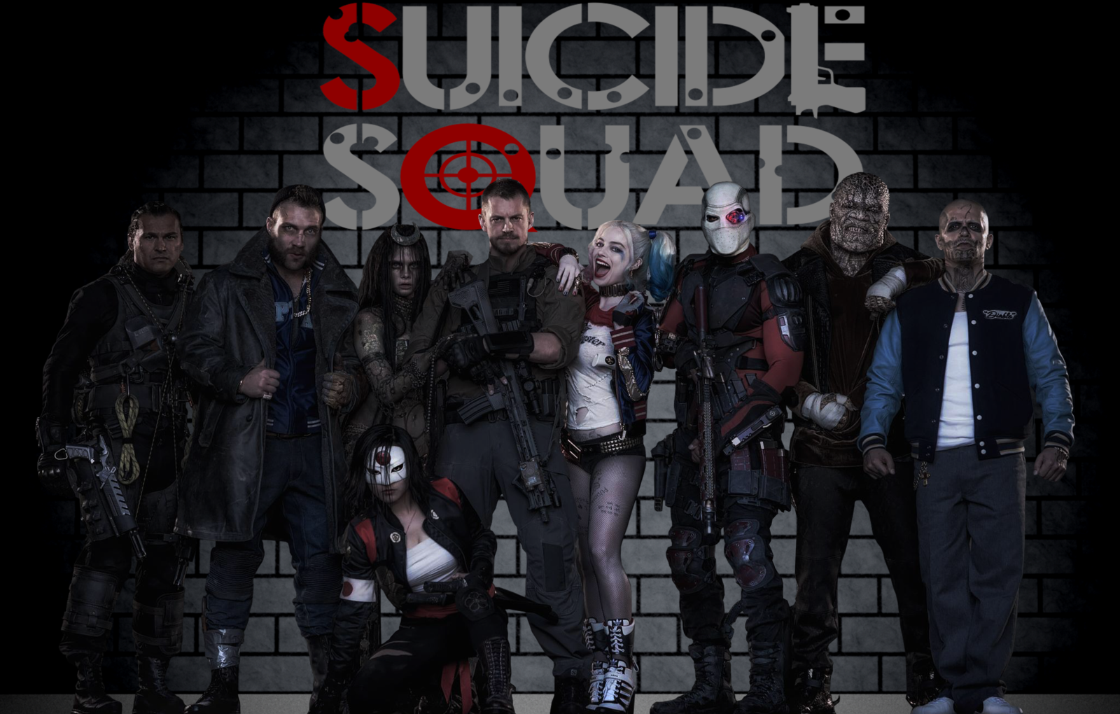 suicide squad wallpaper by arkhamnatic watch customization wallpaper 1600x1020