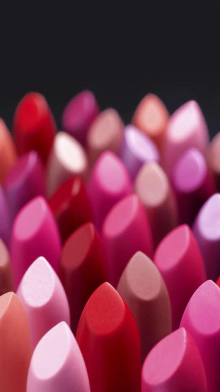 Lipstick Pink lips Lip wallpaper Makeup wallpapers 750x1334