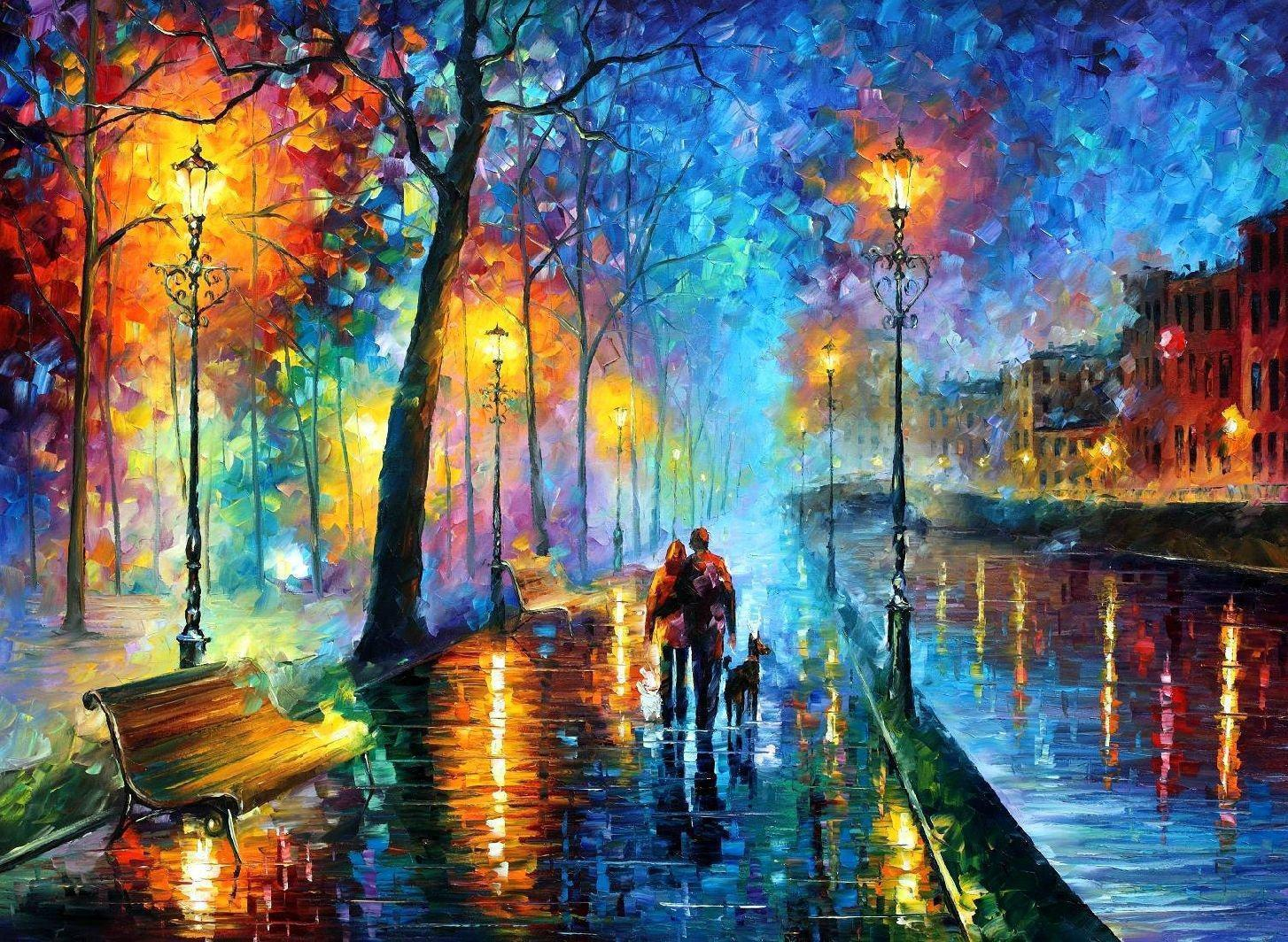 Leonid Afremov Wallpapers 1454x1064