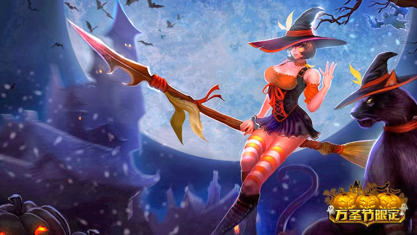 Nidalee Desktop Backgrounds Nidalee LOL Champion Wallpapers 1600x900