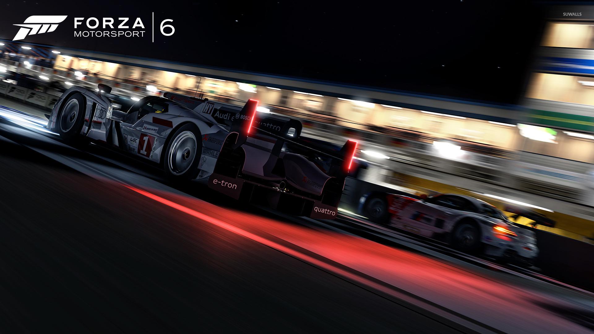 tron quattro   Forza Motorsport 6 wallpaper   Game wallpapers   44845 1366x768
