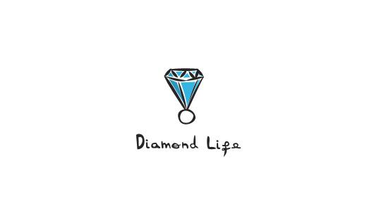 Diamond Life Logo Wallpaper Diamond life 520x300