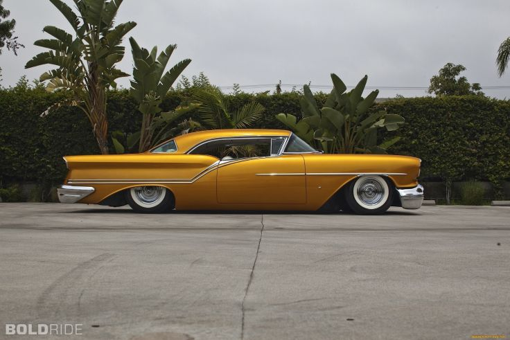 1957 Oldsmobile Custom lowrider classic cars wallpaper 2000x1333 736x491