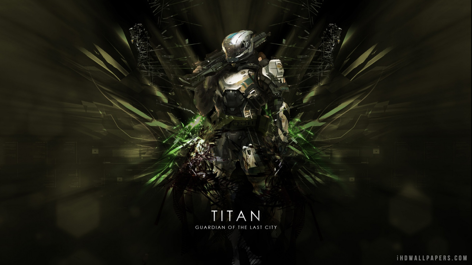 Destiny Titan HD Wallpaper   iHD Wallpapers 1600x900