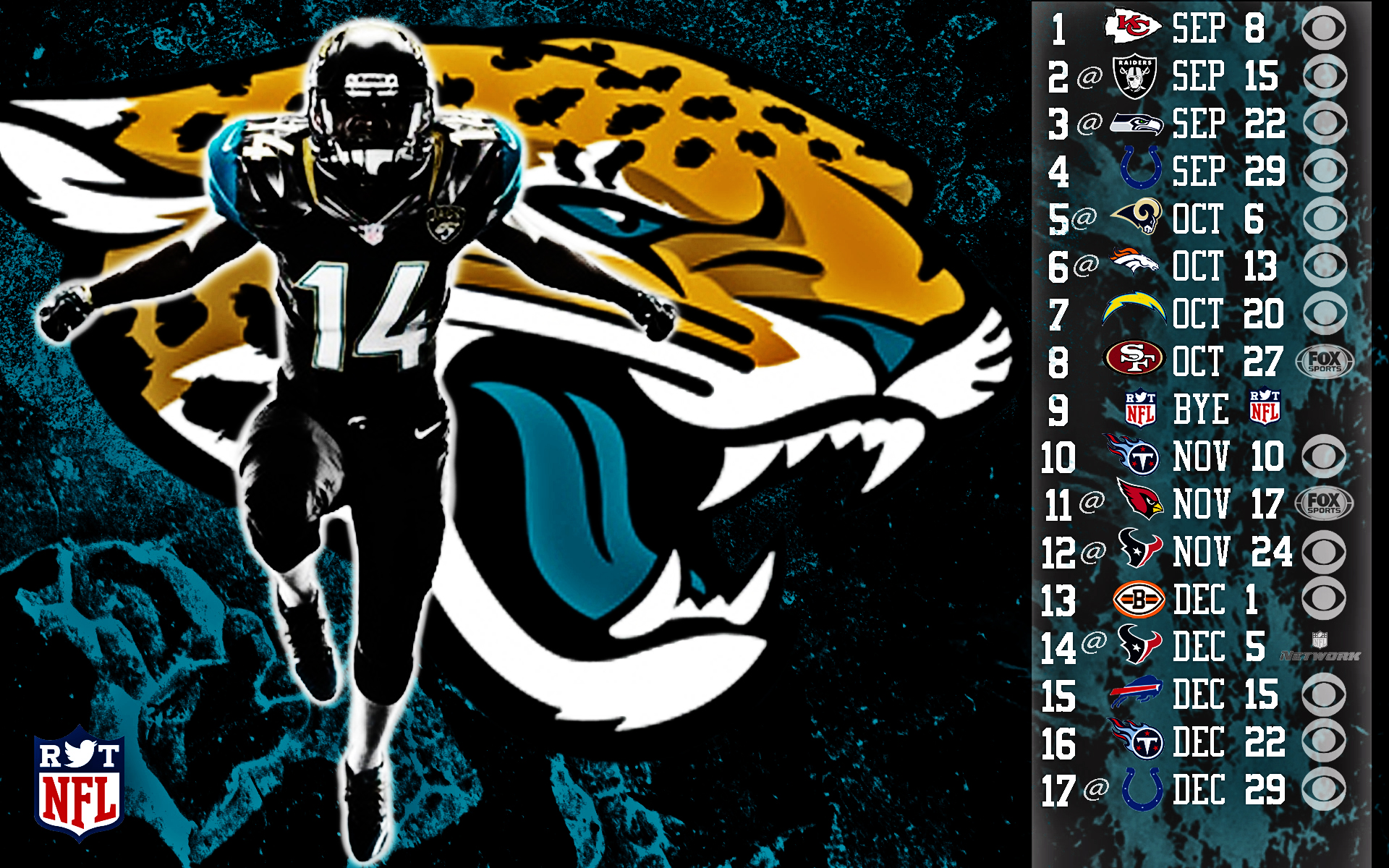 2013 Jacksonville Jaguars football nfl wallpaper background 1920x1200