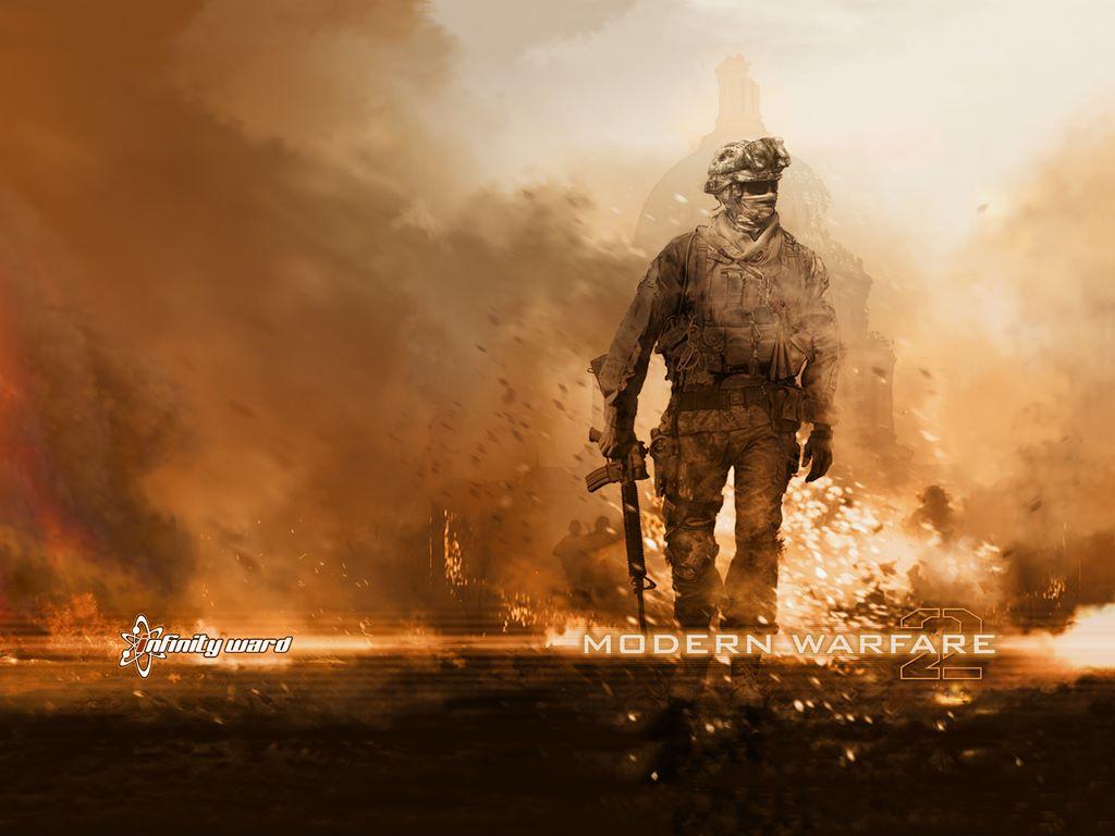 Call Of Duty Modern Warfare 2 Wallpaper Ghost 4731 Hd Wallpapers in ...