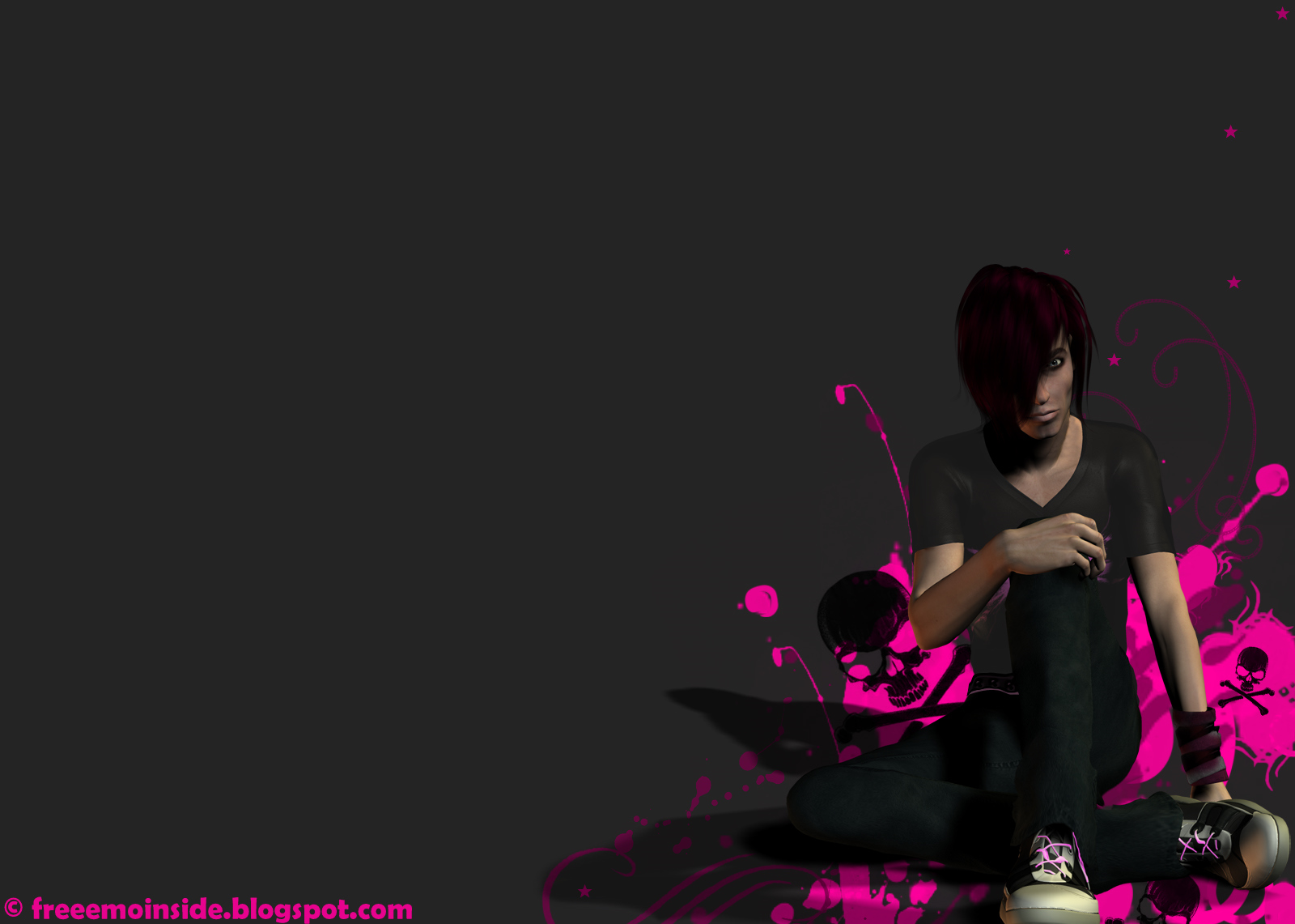 Emo Boys Wallpaper Download Wallpaper DaWallpaperz 1600x1141