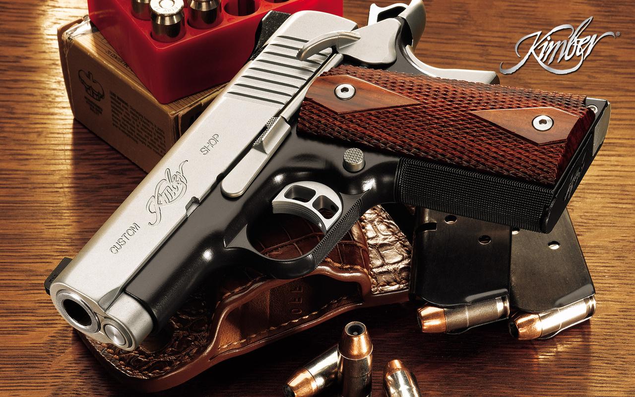 Kimber pistol Widescreen Wallpaper   7390 1280x800