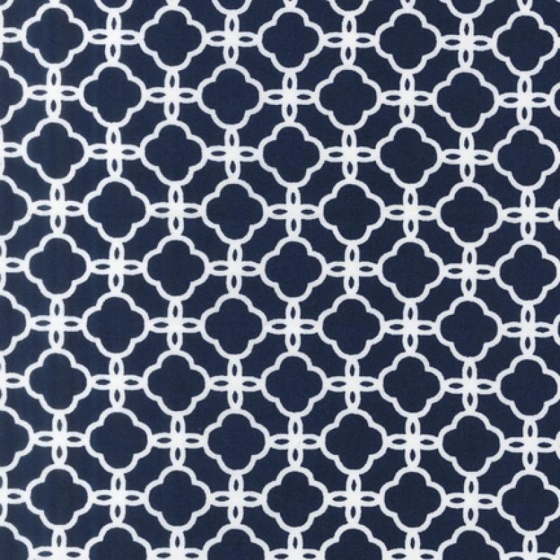 Navy And White Geometric Wallpaper
