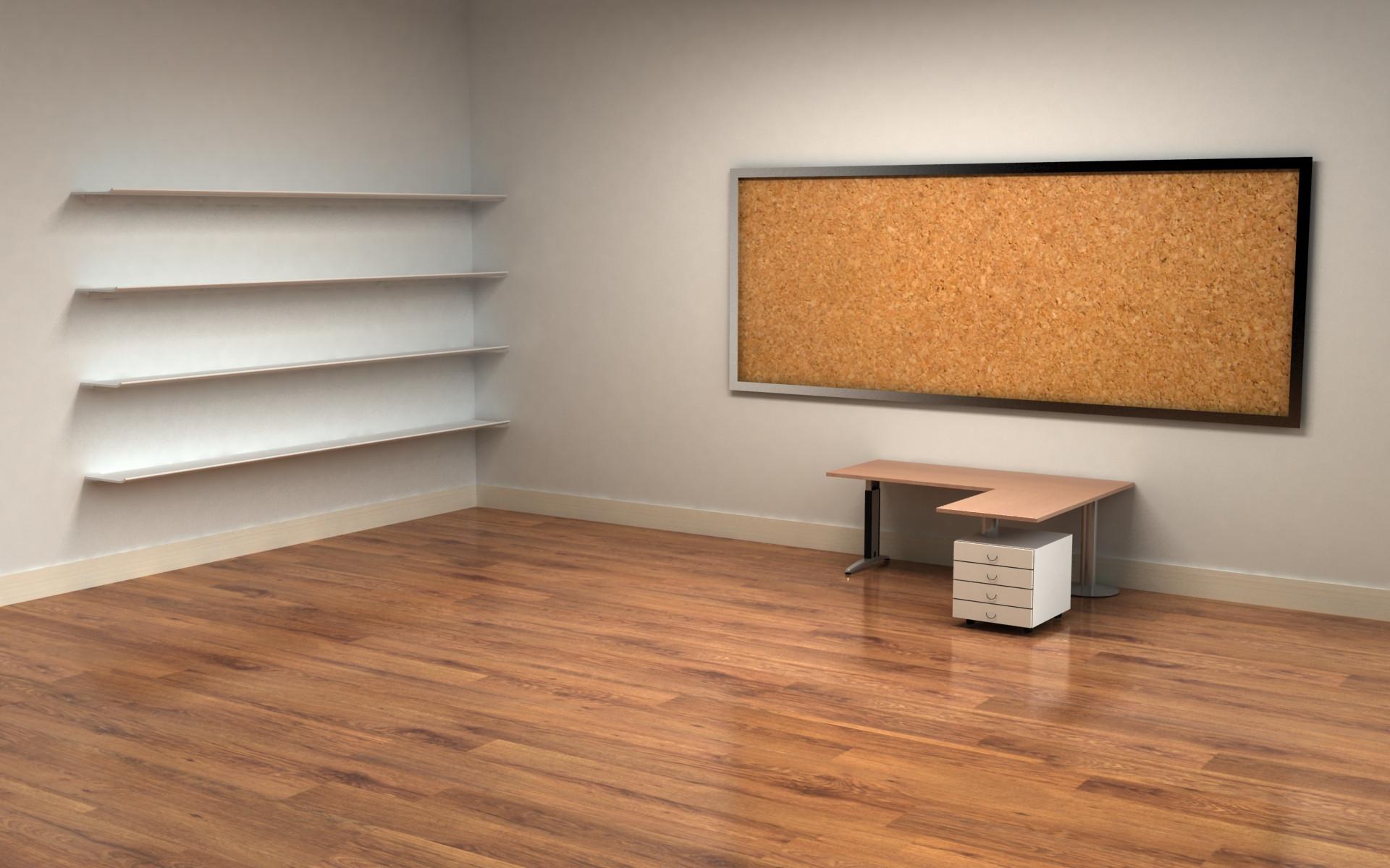 Empty office wallpaper - 276032