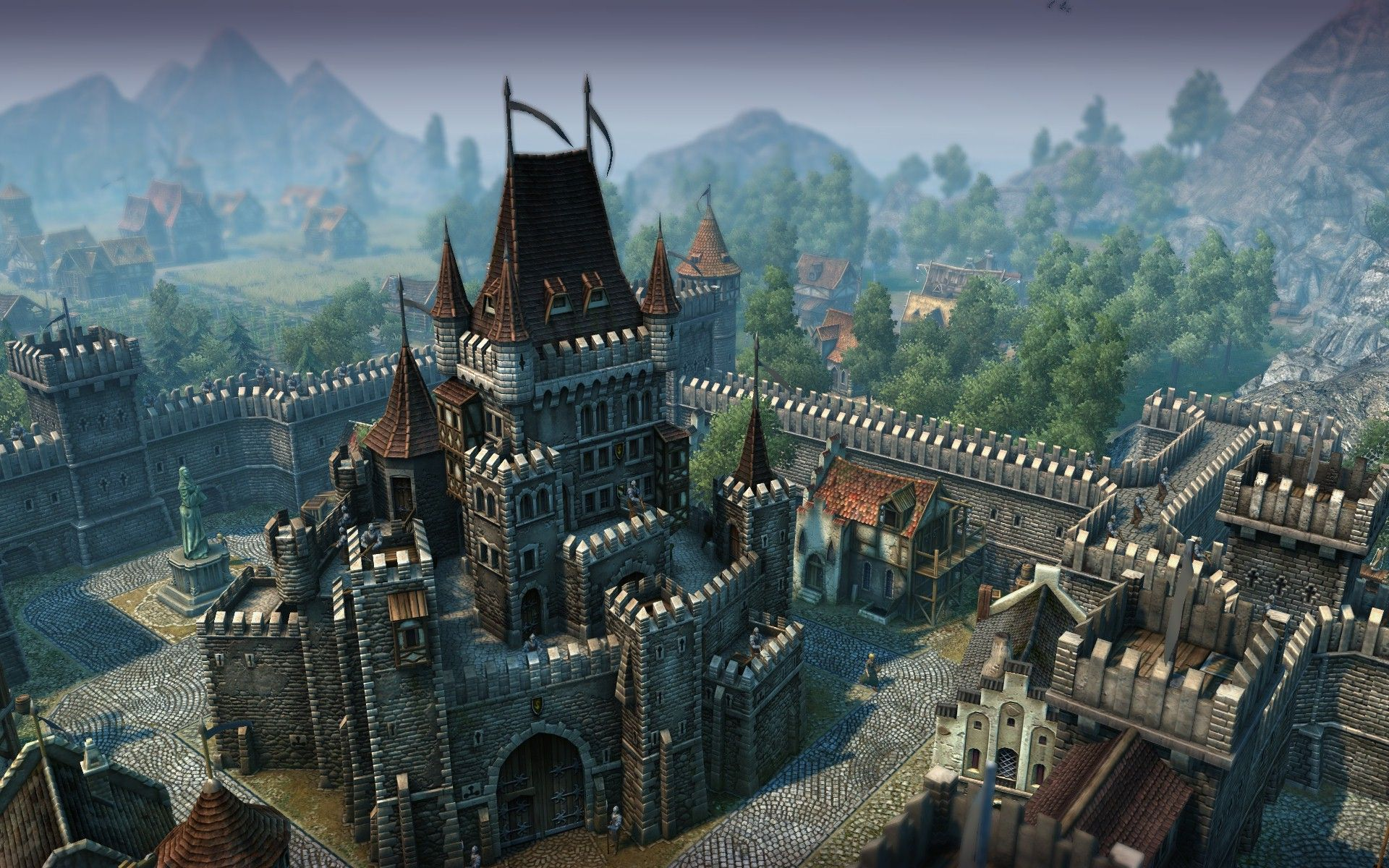 Dark Gothic Wallpaper Landscape