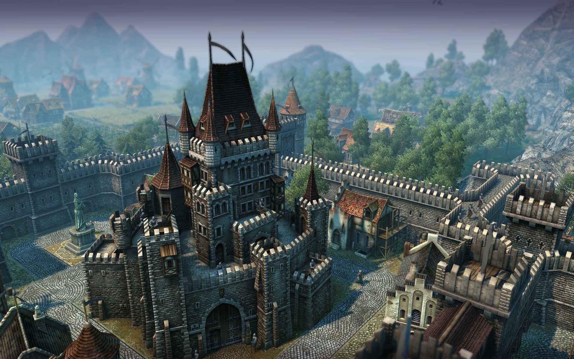 Medieval City Building Games Mac