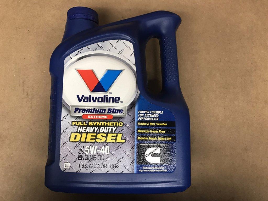 Valvoline Premium Blue Extreme Full Synthetic 5W 40 1 Gallon 1024x768