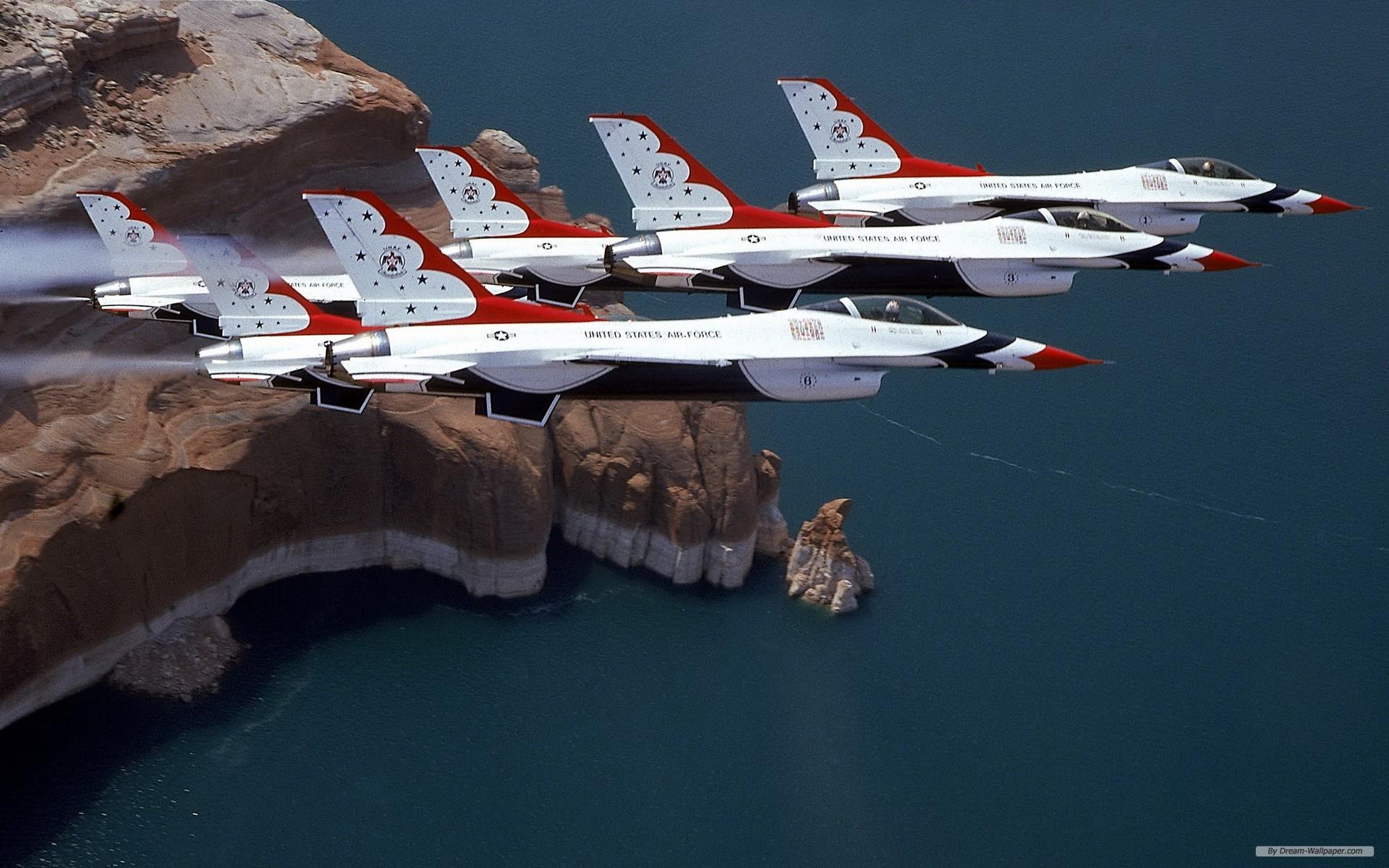 Photography wallpaper   USAF Thunderbirds wallpaper   1920x1200 1920x1200