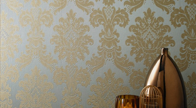 Free Download Teal Damask Wallpaper Wallpaper Teal And Gold