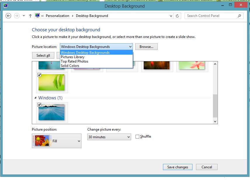 Change Desktop Wallpaper Automatically 856x616