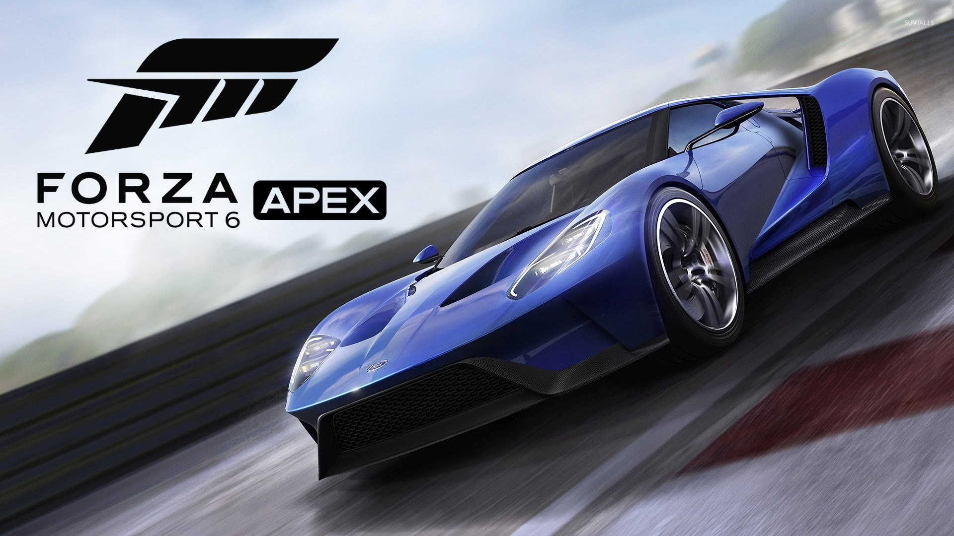 Ford GT in Forza Motorsport 6 wallpaper   Game wallpapers   53321 1366x768