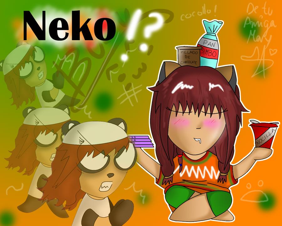 Neko Wallpaper by calibapopo 900x720