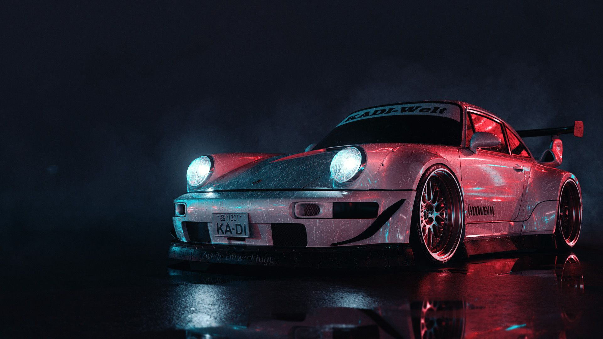 RWB Porsche Wallpapers   Top RWB Porsche Backgrounds 1920x1080