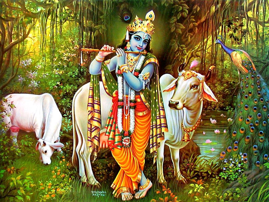 Shri Krishna Janmashtmi Wallpaprt Lord Wallpaper God 1024x768