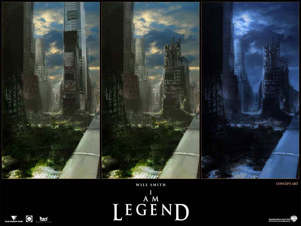 I Am Legend Movie city wallpaper   Horror Movies Wallpaper 1024x768