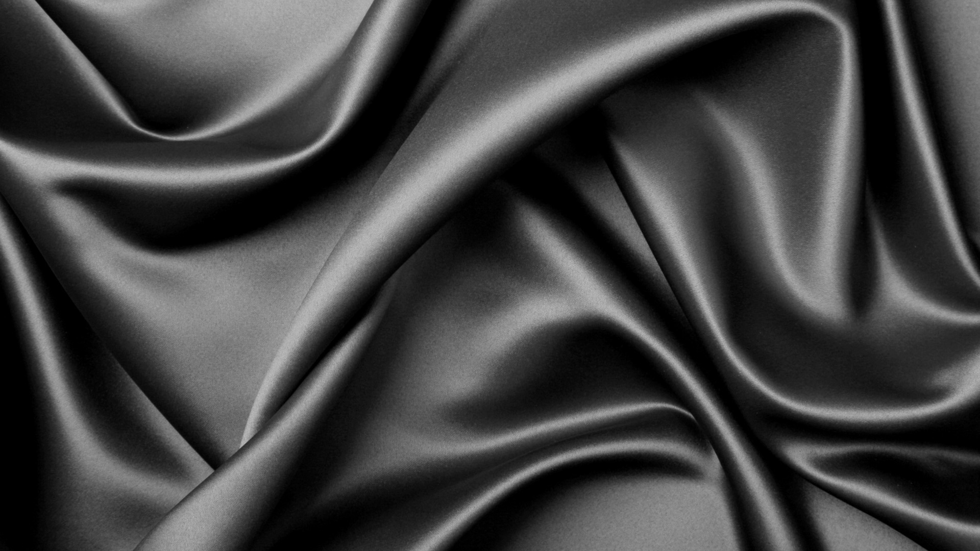 Download texture black silk fabric cloth background texture 1920x1080