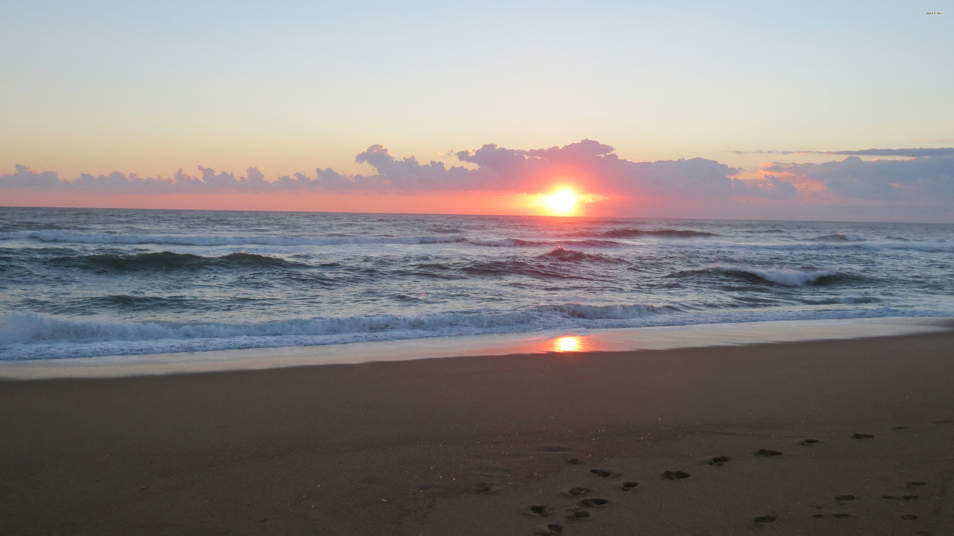 Early sunrise at Outer Banks wallpaper   Beach wallpapers   35237 3840x2160