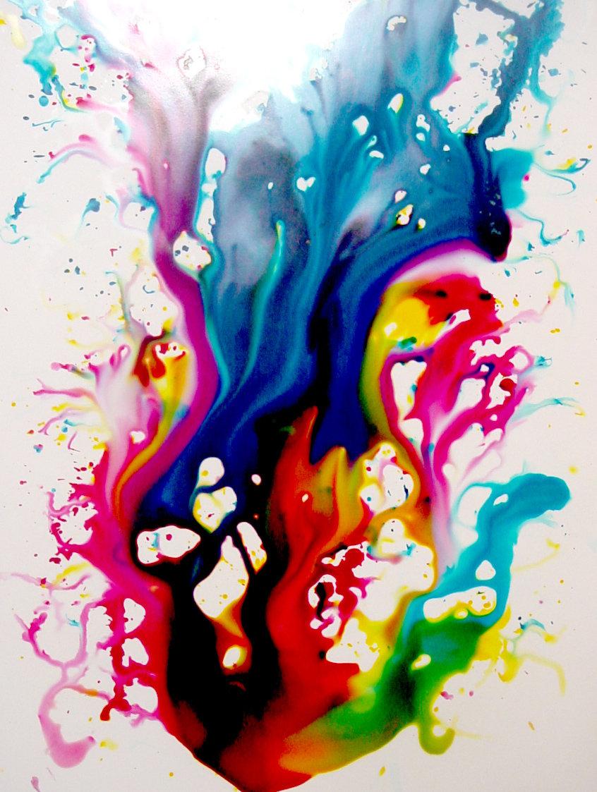 Wallpaper Ink in Water - WallpaperSafari