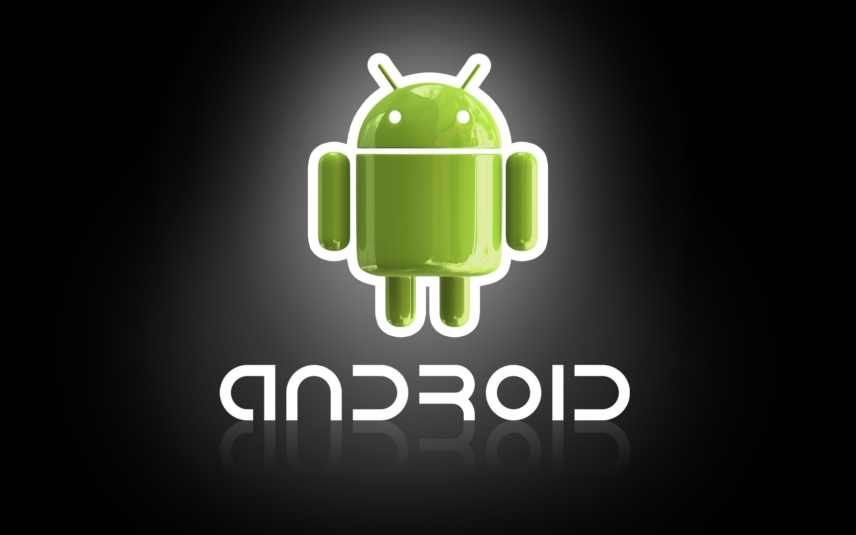 Android 3D wallpapers Android 3D background 1680x1050