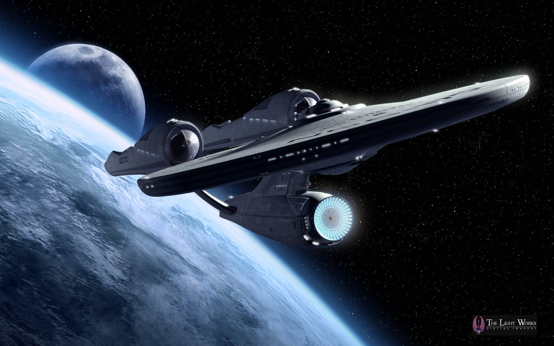 Starship Enterprise   HeyUGuys 1920x1200