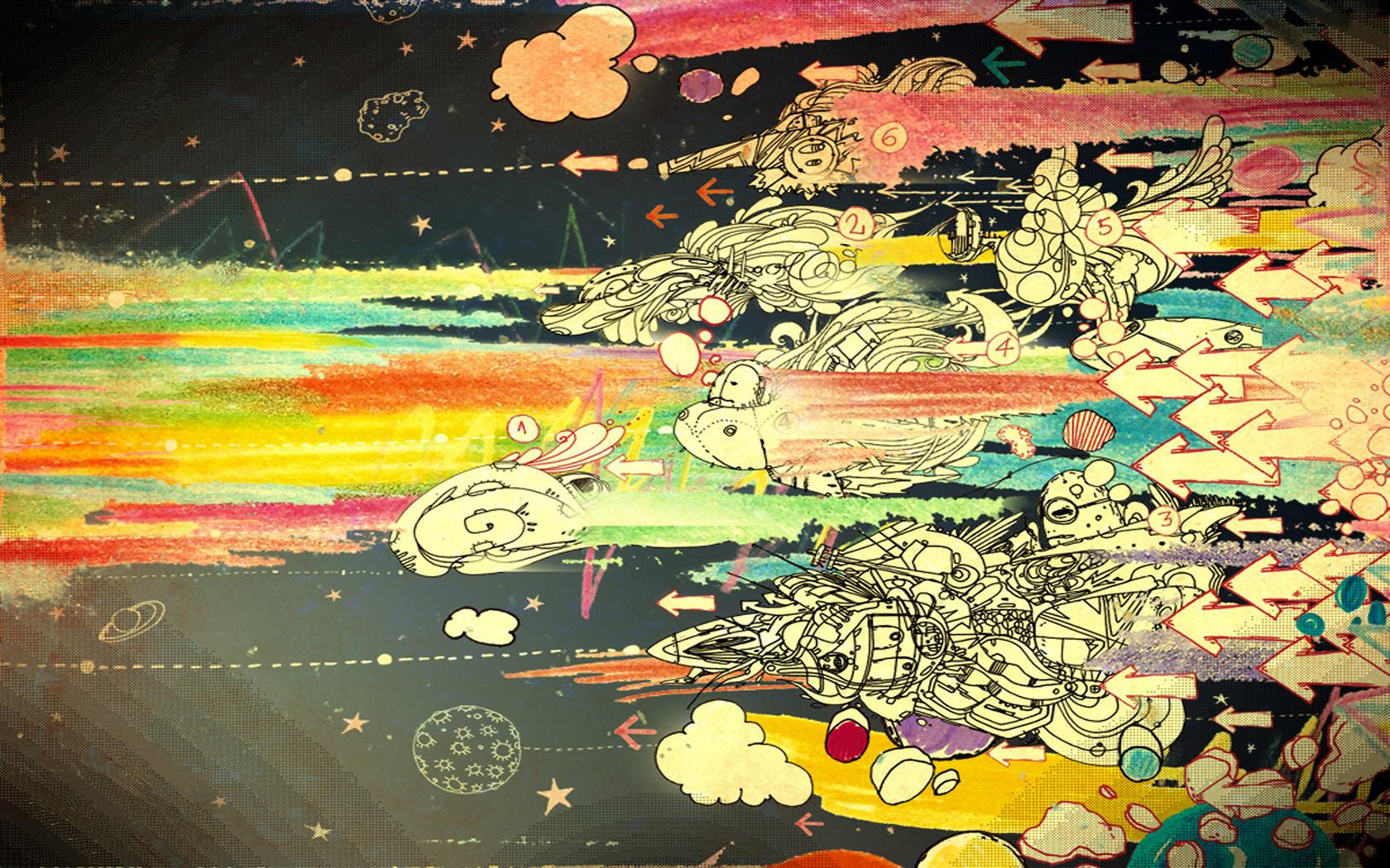 [50+] Doodle Art Wallpapers on WallpaperSafari