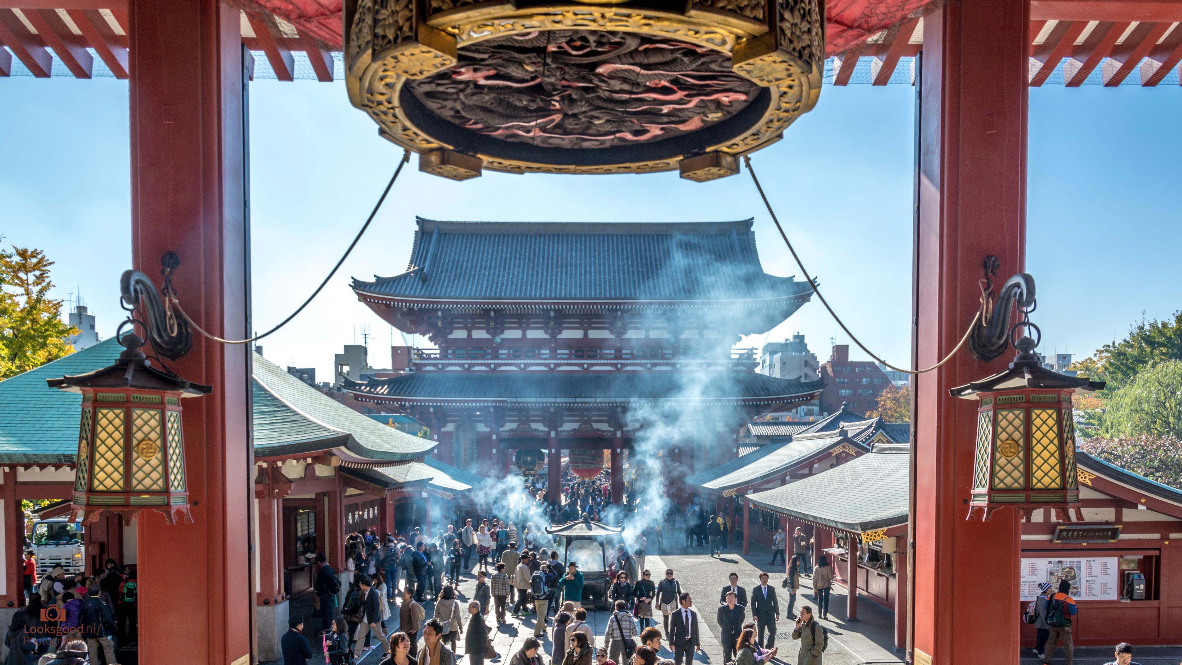 Asakusa Temple Tokyo Japan 4K Wallpaper Desktop Background Flickr 3840x2160