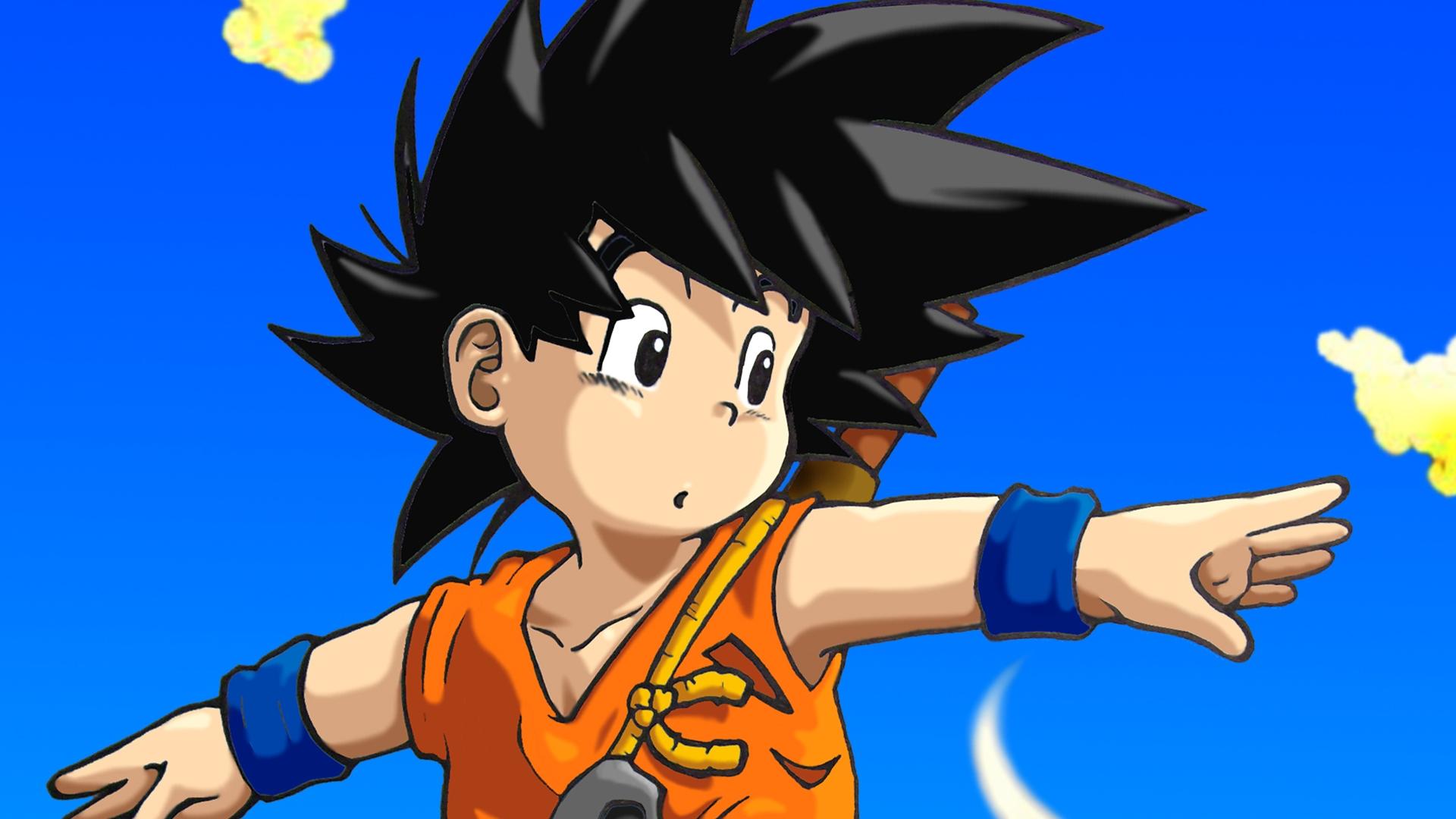 Son Goku wallpaper 1920x1080