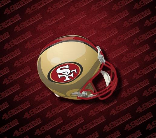 49 san francisco 49ers desktop wallpaper on wallpapersafari - 49ers wallpaper iphone 5 ...