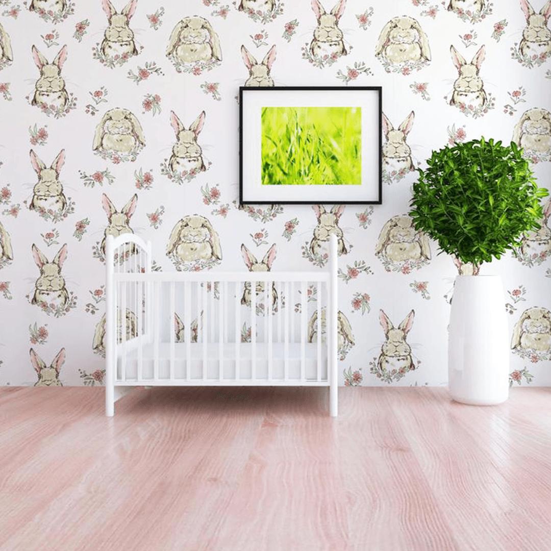 Briar the Bunny Wallpaper Project Nursery 1080x1080