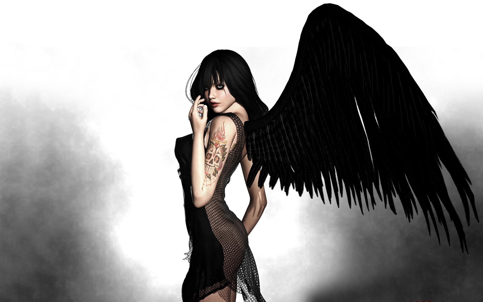 Black Angel   wallpapers 1920x1200